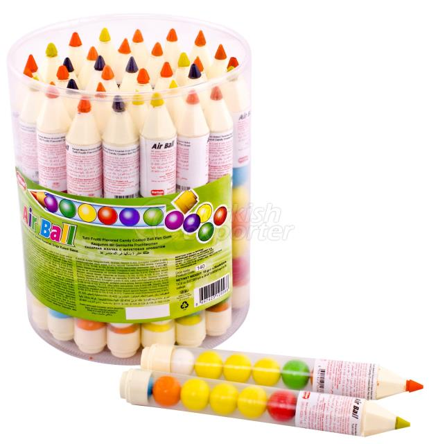 Airball Pastel Pen Shaped Gum