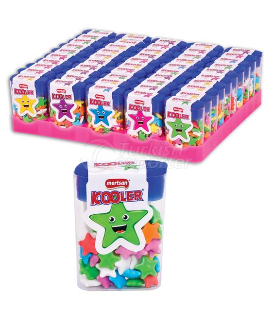 Kooler Star Shaped Candy