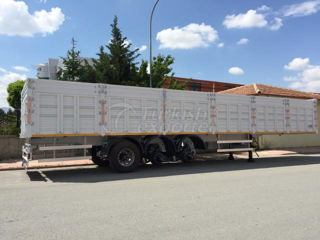 13.60m Dry Load Semi Trailer 3-AXLE