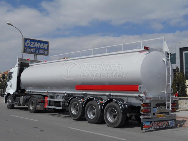OIL-FUEL TANKER SEMI TRAILER