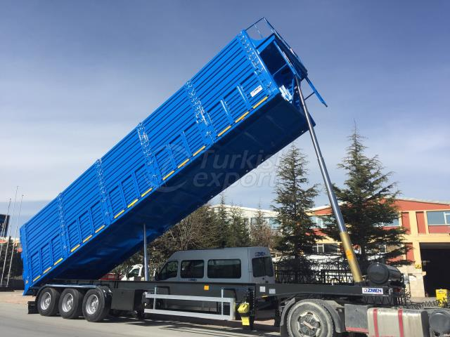 Tipper Semi Trailer With Side Doors