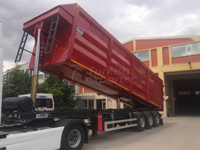 High Volume Tipper Semi Trailer 55
