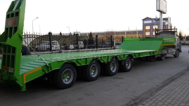 4 Axle Lowbed Semi Trailer - 12.5 m