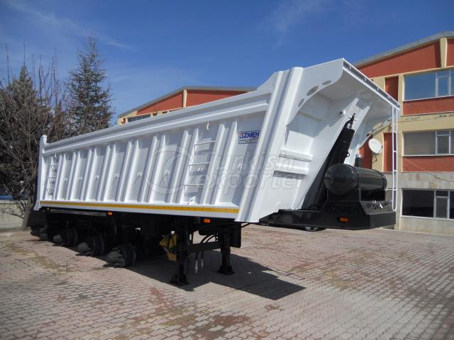 Rock Type Tipper Semi Trailer DSM28