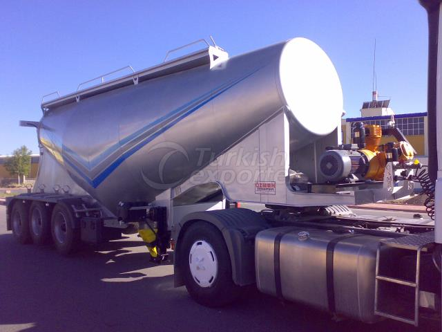 Cement Bulk Semi Trailer - 30 cbm