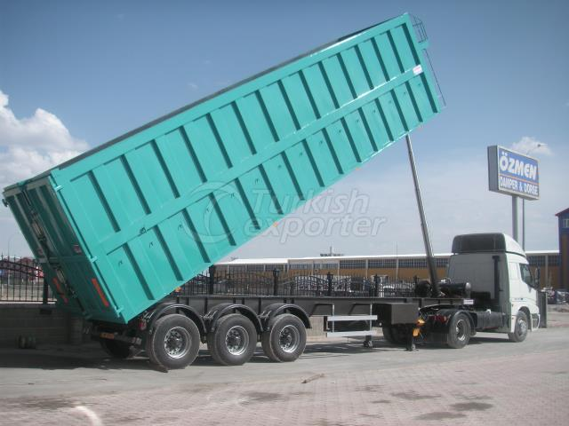High Volume Tipper Semi Trailer SPC