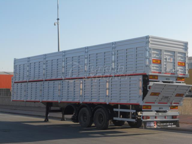 13.60 Dry Load Semi Trailer 3 Axle