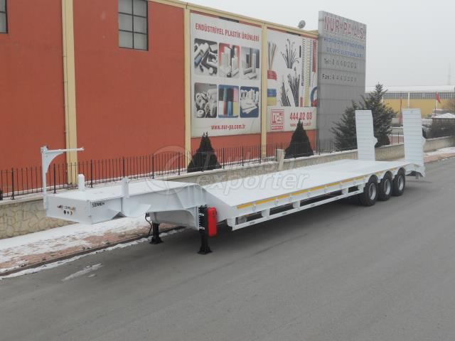 3 Axle Lowbed Semi Trailer - 9m