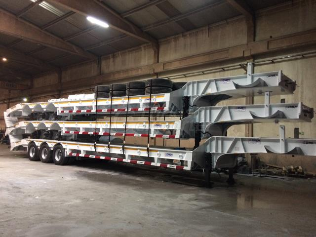 3 Axle Lowbed Semi Trailer - 12m