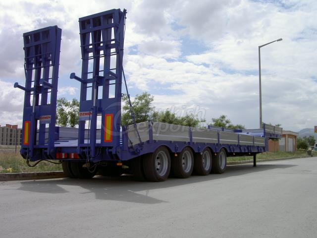 4 Axle Lowbed Semi Trailer - 12 m