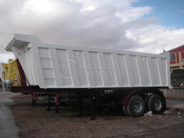 Rock Type Tipper Semi Trailer DSB28