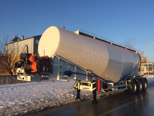 Cement Bulk Semi Trailer - 48 cbm