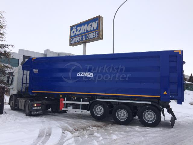 High Volume Tipper Semi Trailer 40