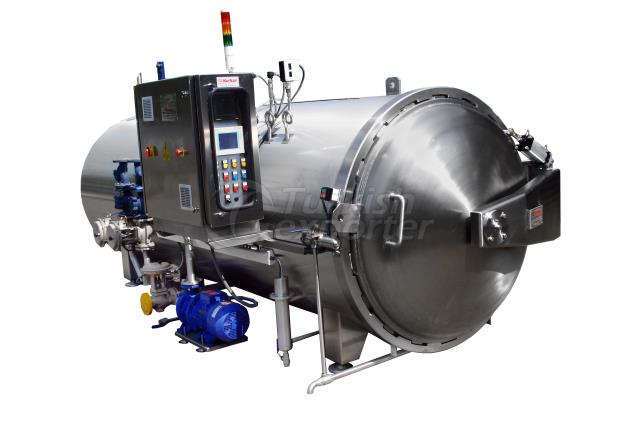Full Automatic Horizontal Cylindrical Autoclave