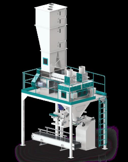 Double Flour Bagging Machine System