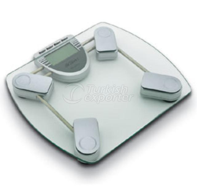 Body Fat/Hydration Measuring Glass Surface Digital Bathroom Scale AR 526 Arzum