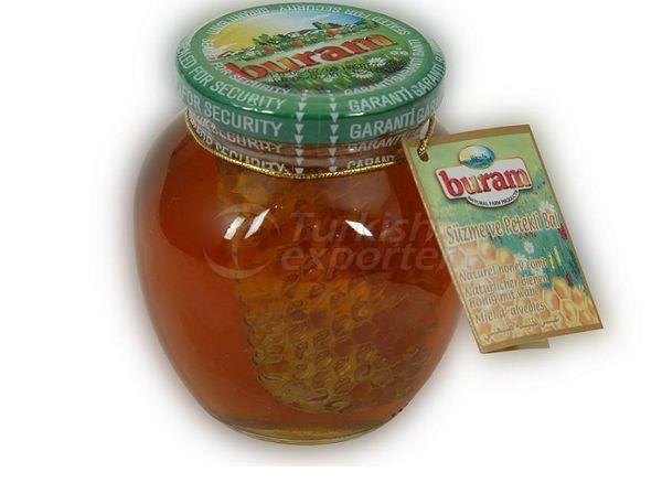 Naturel Flower Honey with Comb 450 gr