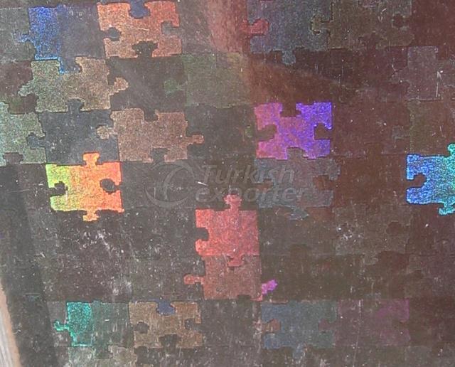 Holographic Film B1-Puzzle