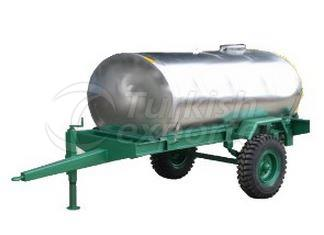 Single Axle Water And Fuel Oil Tanks