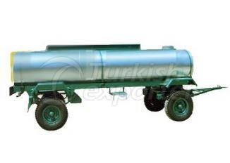 Double Axle Water And Fuel Oil Tanks