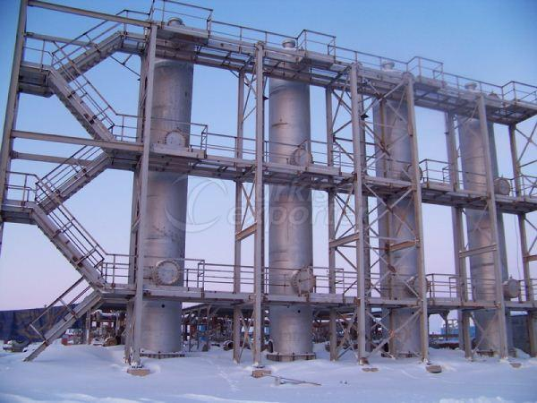 Caspian Kazakhistan Gas Refinery Projects