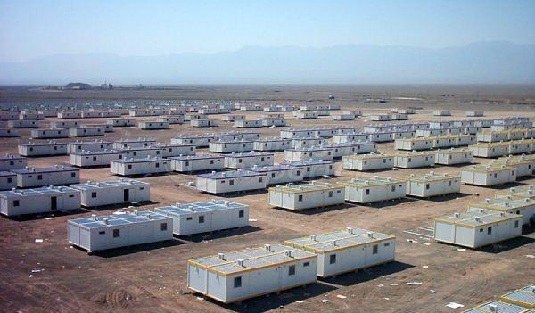 Bam Iran Earthquake Container Projects