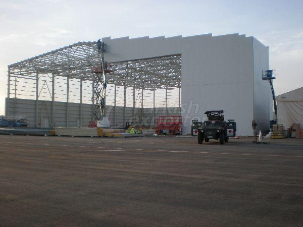 Djibouti Airplane Hangar Projects