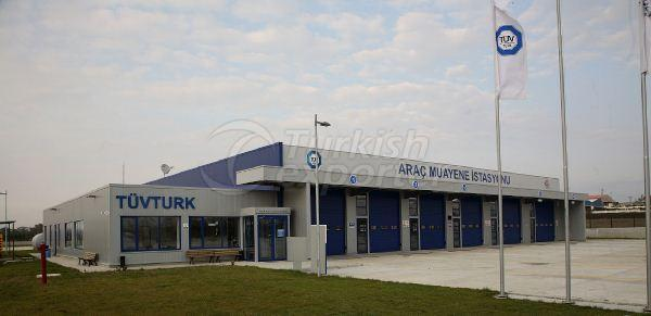 Vehicle Inspection Station Project Throughout Turkey