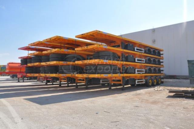 Platform Type Container Carrier