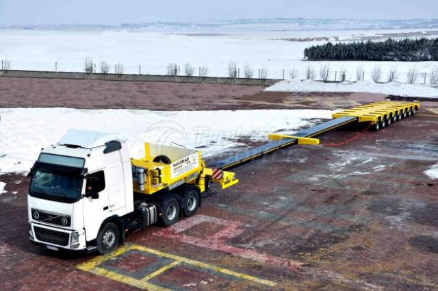 8 Axle Lowbed