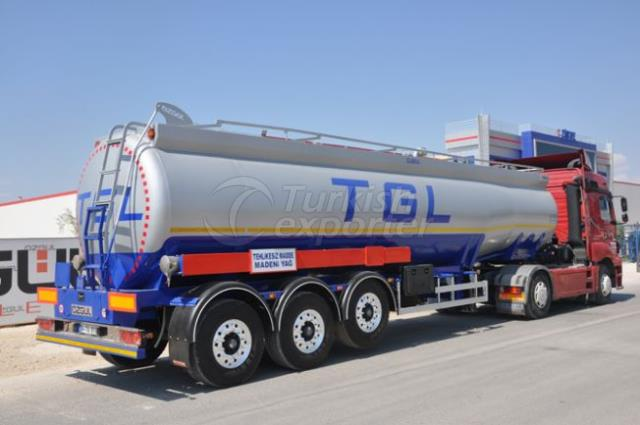 Isolated Tanker
