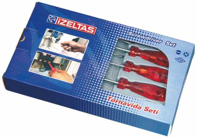 Screwdriver Kraft Set 4100