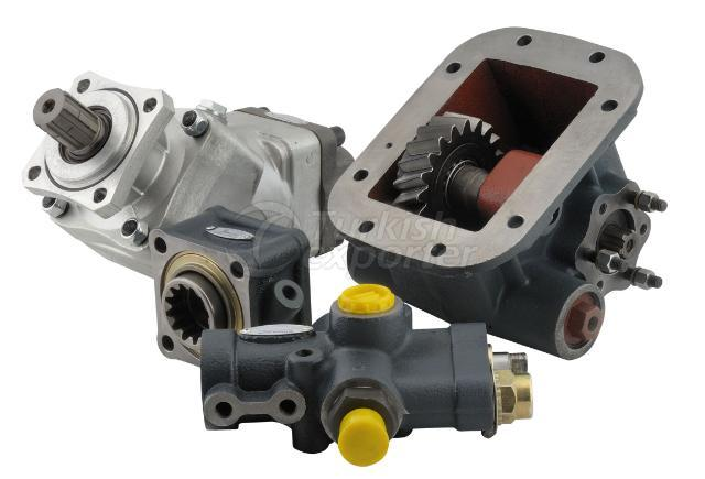hydraulic, pumps, gear, piston, PTO