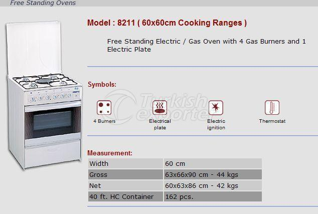 Free Stranding Ovens 60x60 Cooking Ranges 8211