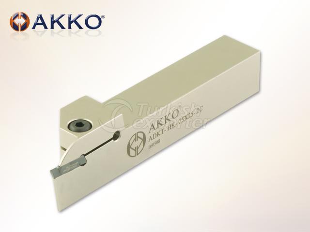 ADKT-HK External Grooving Tool Holders ( Small Horn )