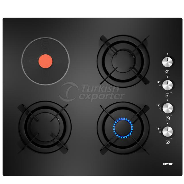Built-In Glass Hobs Goreme 2818
