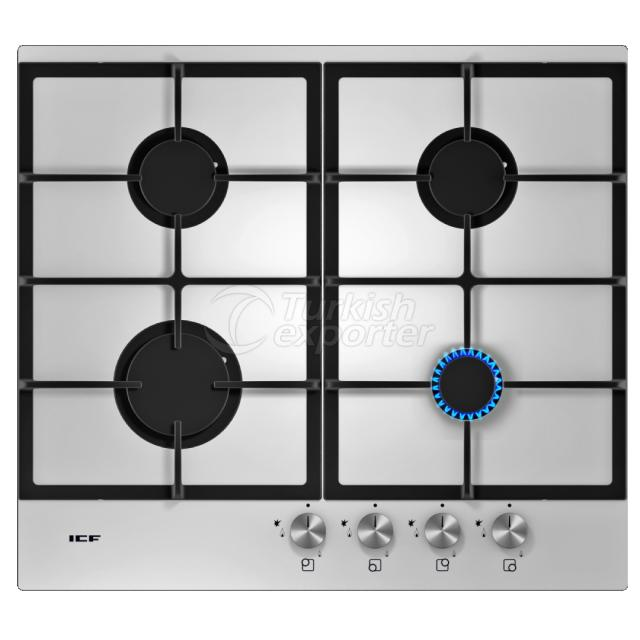 Built-In Glass Hobs Pamukkale 2333