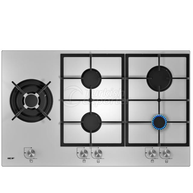 Built-In Glass Hobs Pamukkale 2346