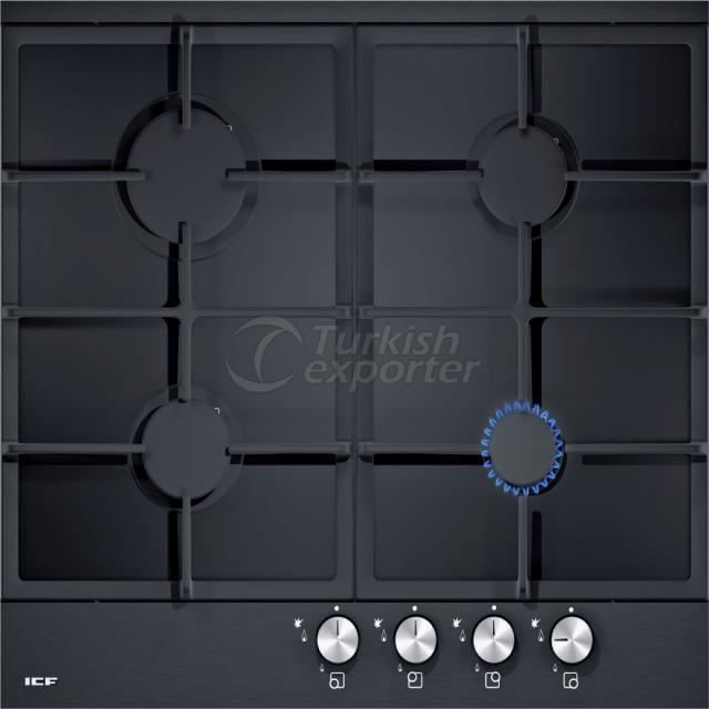 Built-In Glass Hobs Aspendos 2330