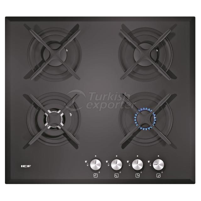 Built-In Glass Hobs Aspendos 2313