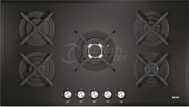 Built-In Glass Hobs Aspendos 2542