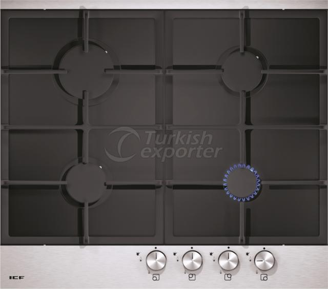 Built-In Glass Hobs Anatolia 2802