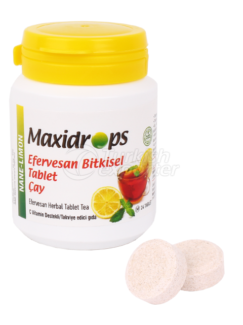 Maxidrops Tablet Tea Mint-Lemon