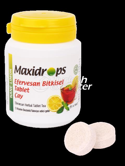 Maxidrops Tablet Tea Mint-Lemon