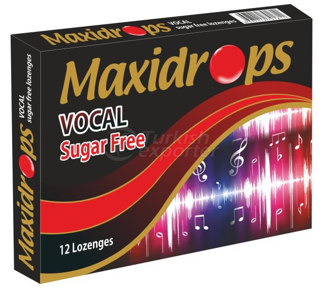 Maxidrops Sugar Free VOCAL Lozenges