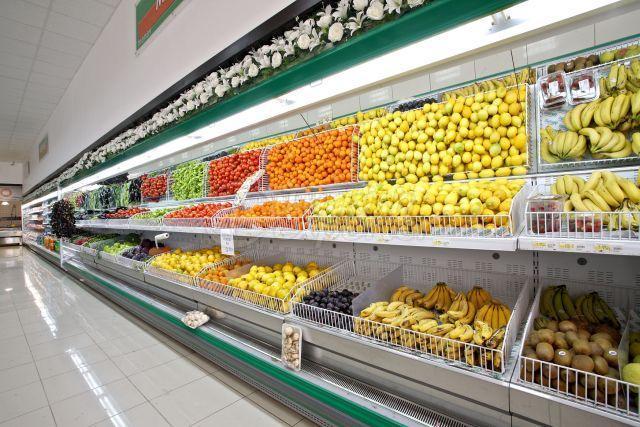 Vegetable-Fruit Rayons