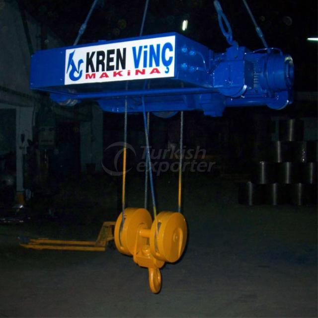 Trolley type crane 2 tonne