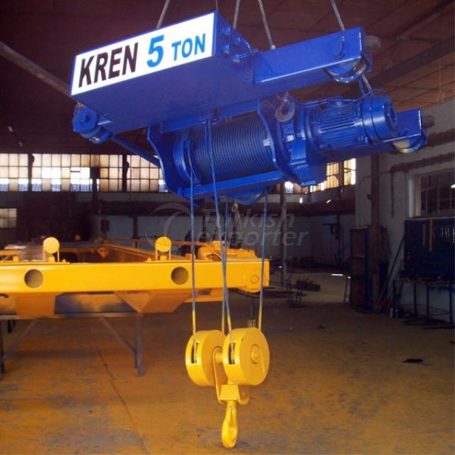 Trolley type crane 5 tonne