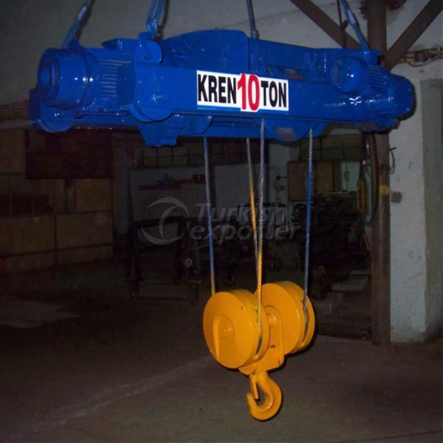 Trolley type crane 10 tonne