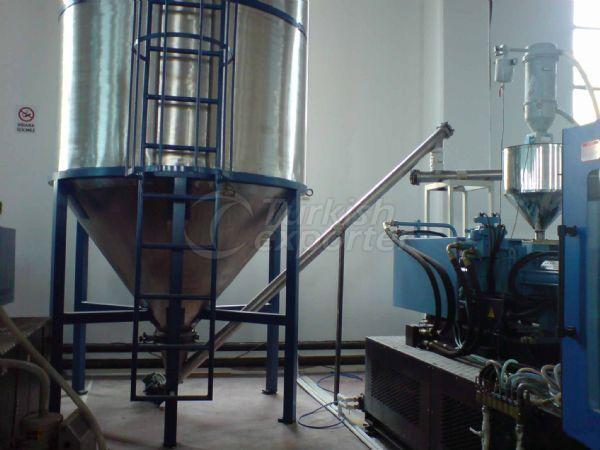 Mixer Loading and Extruder Feeding Systems